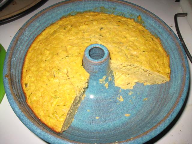 Cheesy Squash Cornbread Casserole